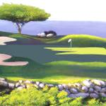 """Ocean View Golf"" by AudieDunham"