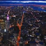 """Veins of lava (Manhattan by night) new york"" by skelter"