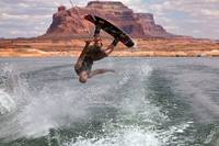 Wake Boarding at Lake Powell (Ryan)