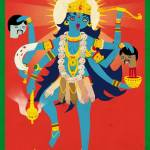 """Kali Maha(original size suggested)"" by TommyThePariah"