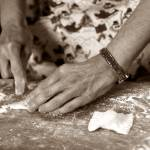 """Hands making ravioli"" by Erica_Marshall"