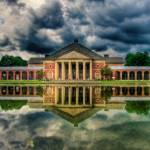 """A Storm is Brewing at the Hall of Springs!"" by sdecker"