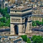 """Tilt Shift:  Arc de Triomphe"" by sdecker"