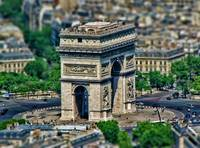 Tilt Shift:  Arc de Triomphe