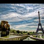 """The Eiffel Tower from the Trocadéro Fountain"" by sdecker"