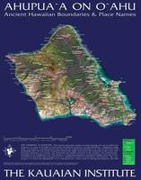 Hawaiian Ahupuaa Map of Oahu
