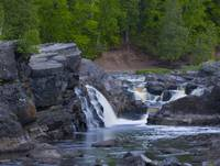 Forest, Stone, Falls, and Rapids