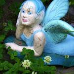 """Blue,Winged Garden Fairy"" by kalabart"