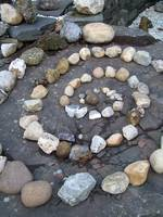 Stone and Rock Spiral