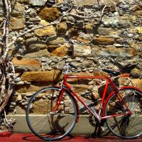 Red Bike Art Prints & Posters by elchblut