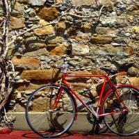 Red Bike Art Prints & Posters by elchblut