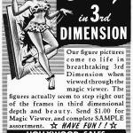 """3-D Beauty, 1953 Magic Viewer ad"" by arcaniumantiques"
