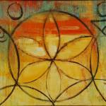 """yellow flower mandala"" by judithshaw"