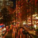"""Riverwalk at Christmastime"" by mcdragon69"