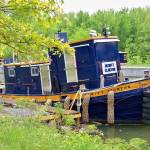 """""""Tug Boat at Lock 33"""" by PittsfordPIcs"""