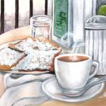 """Cafe du Monde Table"" by creativemoods"