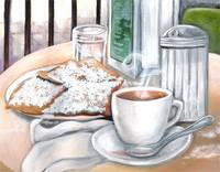 Cafe du Monde Table