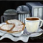 """Cafe Du Monde on Black"" by creativemoods"