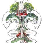 """""""St. Bernard Parish Fleur de Lis"""" by creativemoods"""