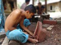mah meri grandson carving