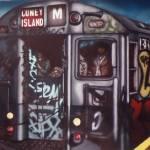 """""""M Train to Coney Island Brooklyn"""" by ChristopherBuckley"""