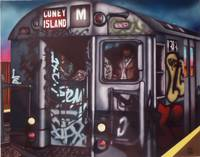 M Train to Coney Island Brooklyn