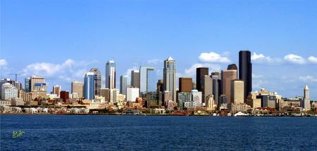Seattle Skyline Ten