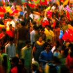 """Colours of crowd"" by Rahil"