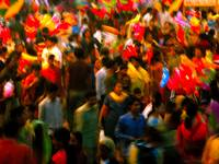 Colours of crowd