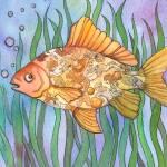 """""""Goldfish"""" by createdcreating"""