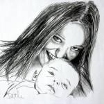 """""""mum and son"""" by daveallen"""