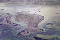 Venice lagoon by Air