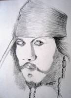 Captain Jack pencil