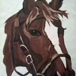 """""""horse acrylic"""" by sgodau"""