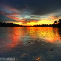 Fire Water Lake