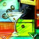 """""""Martini Days Are Here"""" by JulieMHolloway"""
