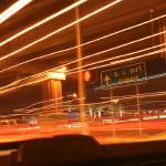 """Light Trails #3"" by Risha"