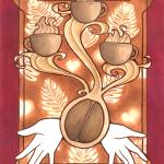 """""""Love for Coffee print"""" by JJSketch"""