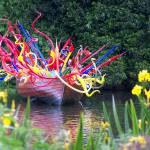 """glass sculpture kew"" by Winston"