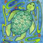 """Sea Turtle Jewel"" by rmcotton"