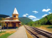 Station at Crawford Notch