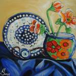 """Polish Pottery VIII: The Eyes Have it!"" by 88heather"