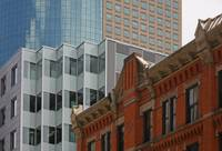 Denver-Downtown  architechure, new and old