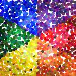 """color wheel dots"" by TCRAWFORD"