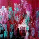 """Abstract City"" by peggygarr"