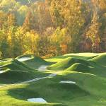 """Golfing-Pete Dye Style"" by AudieDunham"