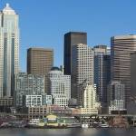 """Downtown Seattle - Panorama shot"" by jeff-the-intern"