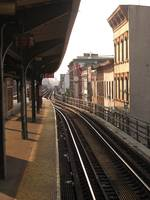 Train Stop in Brooklyn