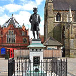 """James Boswell Statue, Lichfield  (16859-RDA)"" by rodjohnson"