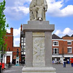 """Dr Samuel Johnson Statue, Lichfield  (16860-RDA)"" by rodjohnson"